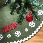 Imágenes de pies de árbol navideños