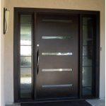Imágenes de puertas principales de aluminio