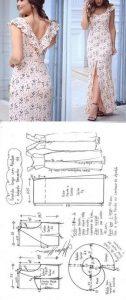 Moldes para vestidos de moda
