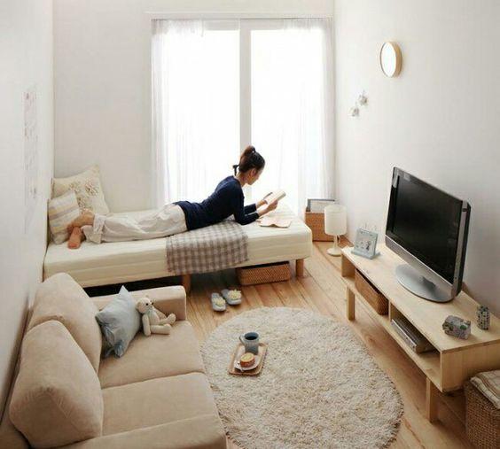 Muebles para un departamento de estudiante