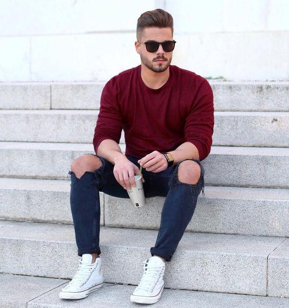Outfits para la universidad hombres