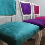 Sillas tapizadas vintage