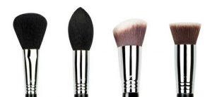 Tipos de brochas y pinceles para maquillaje
