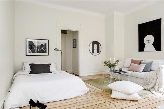 Un departamento minimalista