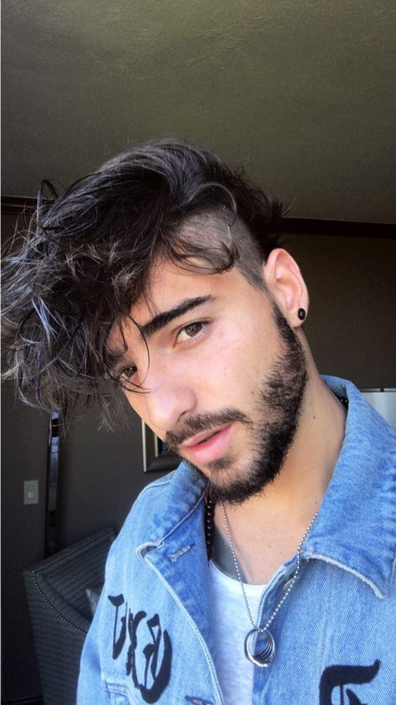 Cortes de pelo con flequillo para hombre