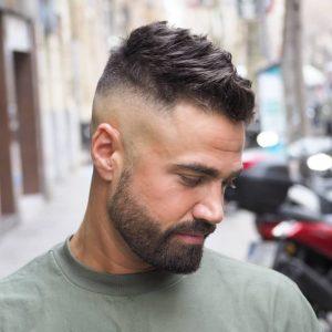 Cortes de pelo texturado para hombre