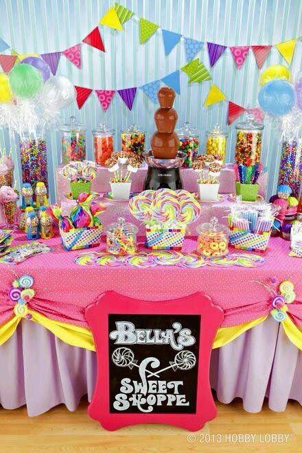 Decoración de acuerdo a la temática de la fiesta infantil