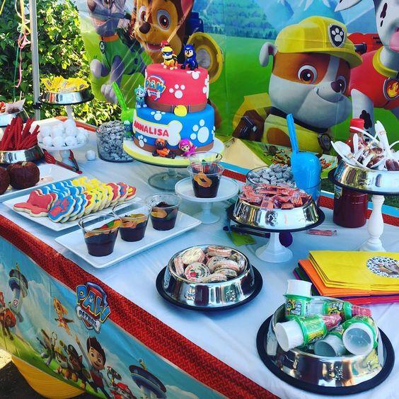 Complementos para la mesa de dulces