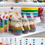 Fotos de mesa de dulces para fiesta infantil