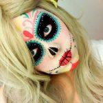 maquillaje de catrina facil y bonito