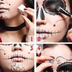 maquillaje de catrina paso a paso