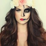 maquillaje de catrina sencillo