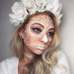 maquillaje de catrinas para el dia de muertos