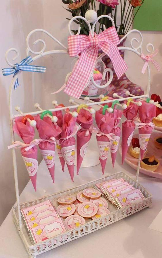 Presentación de los dulces