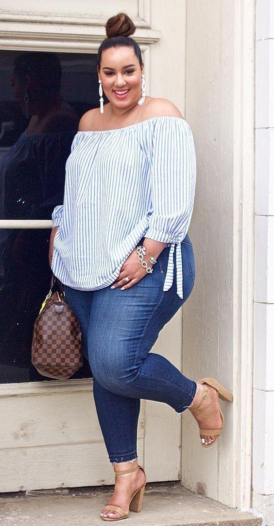 Ropa de moda para mujeres de 40 años gorditas