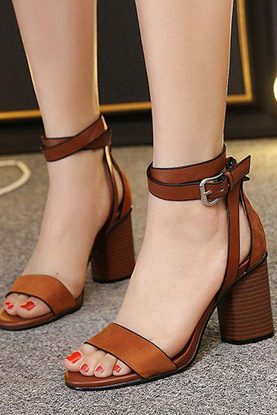 zapatos tacon cuadrado bajos