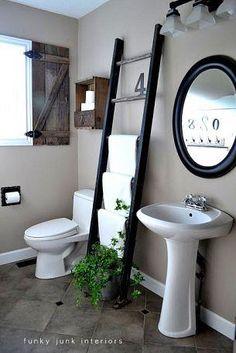 toalleros para baño manualidades