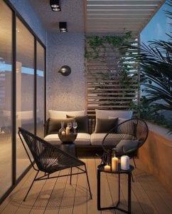 Decoracion de balcones de apartamentos