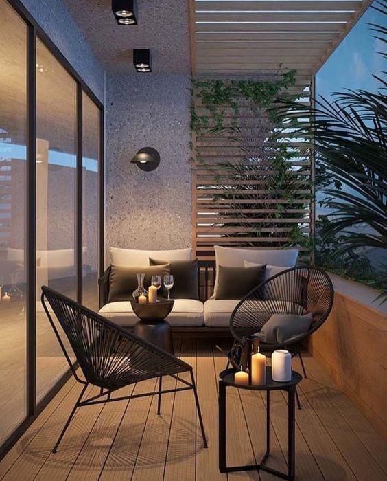 Decoraci n de balcones peque os tendencias en decoraci n for Decoracion apartamentos modernos 2016