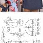 moldes de vestidos para gorditas de fiesta