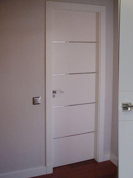 Puertas de madera modernas tendencia en modelos 2019 2020 for Puertas de aluminio para habitaciones