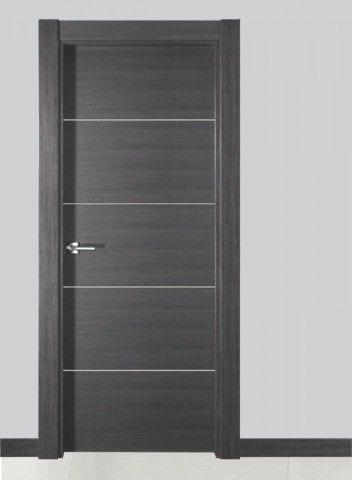 puertas de madera modernas para recamaras