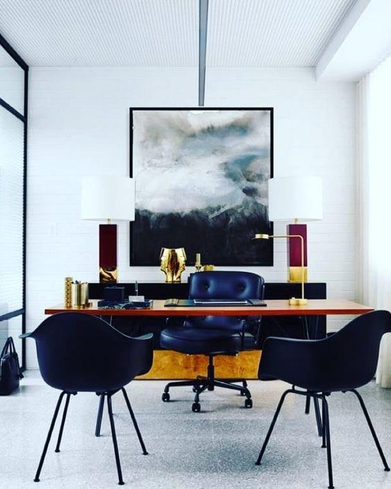 Simetría en diseño de interiores