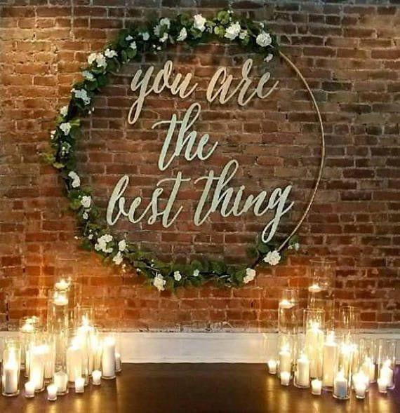 ideas para decorar bodas con aros de hula hula