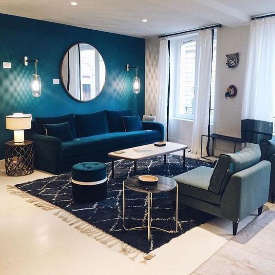 colores para living room modernos