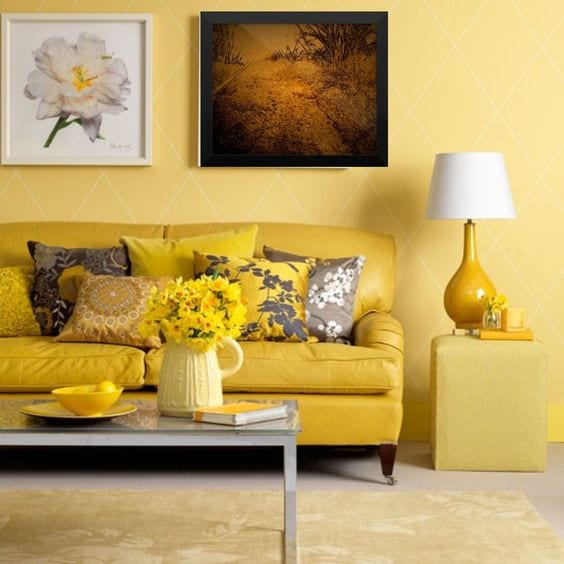 Colores para living room pequeños