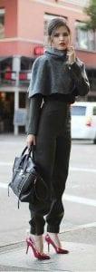 pantalones de vestir para mujeres color negro 2019