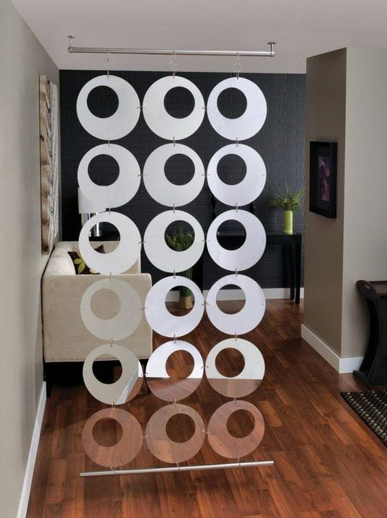 Ideas para separar ambientes pequeños con cortinas creativas