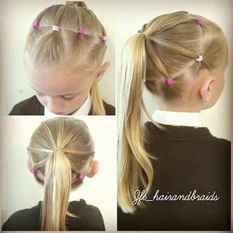Peinados para niñas faciles y bonitos
