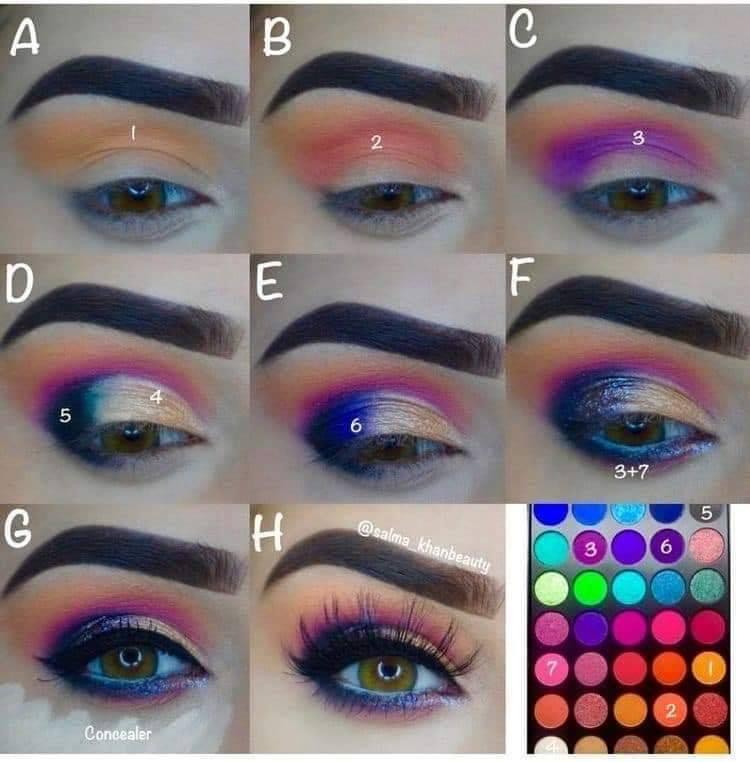 Como aplicar los sombras en el ojo