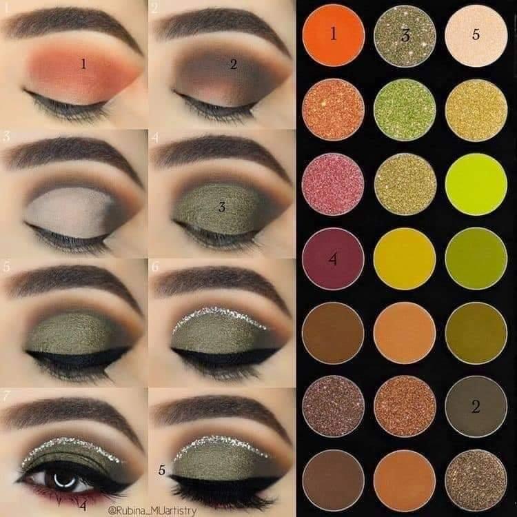 Tips para delinear el ojo después de la sombra