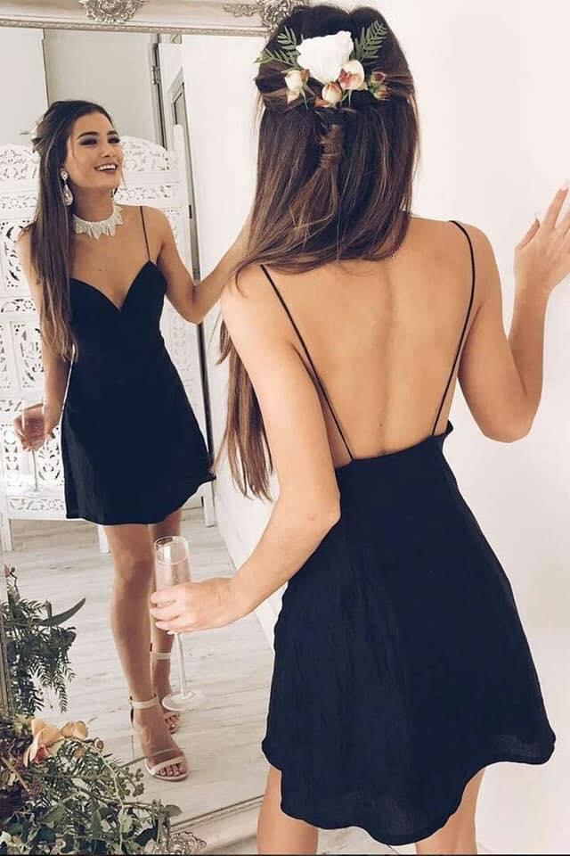 Vestidos casuales negros