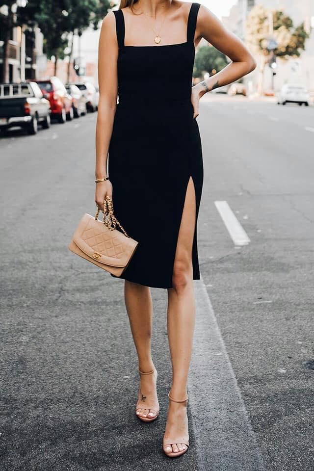 Vestidos negros tipo body