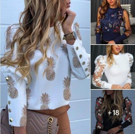 Blusas de moda para mujeres maduras