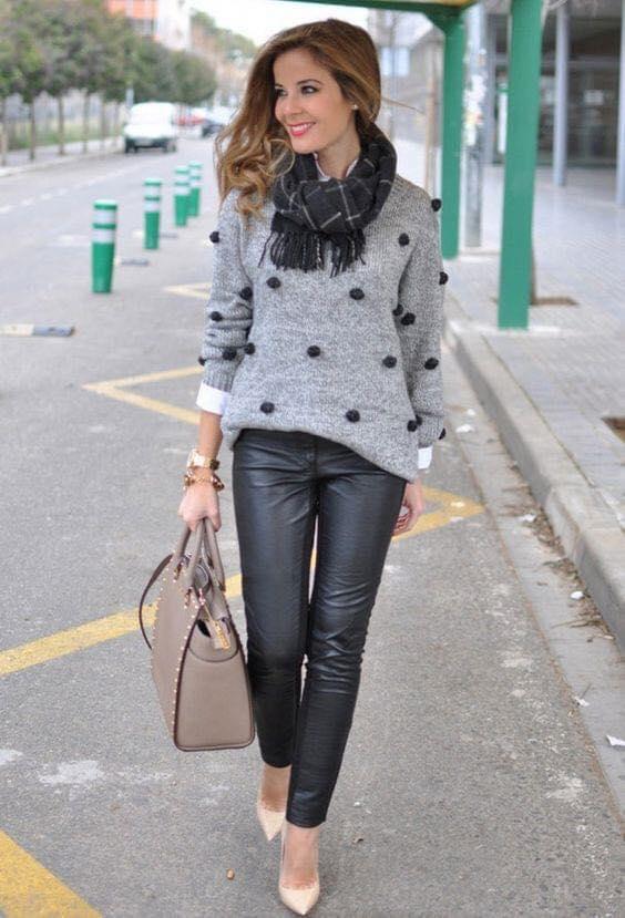 Borlas para decoración de suéter para mujeres de 40 años o más