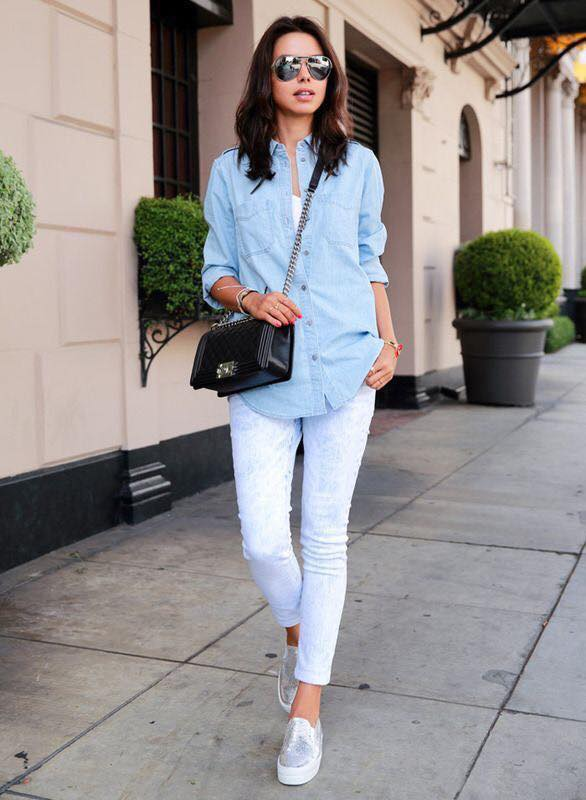Outfits Con Pantalones Blancos Para Mujeres Maduras Como Organizar La Casa