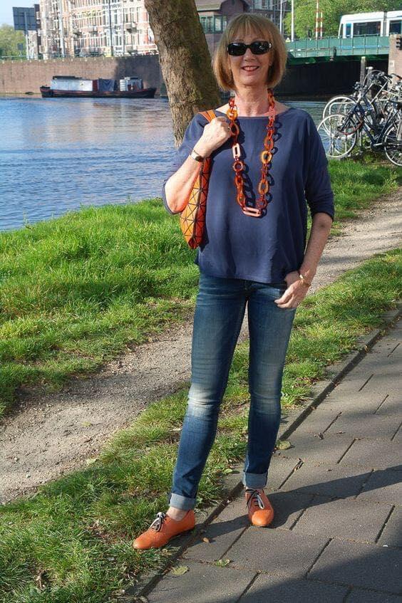 Maxi collar largo para accesorio de look juvenil