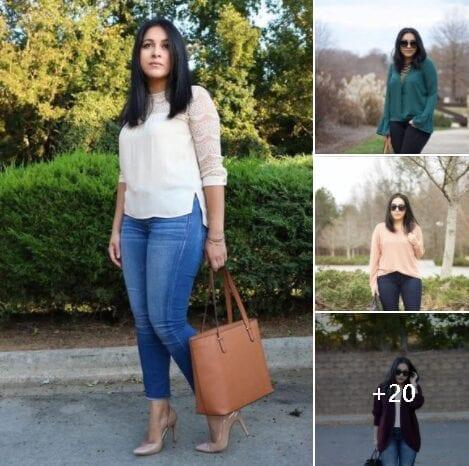 Outfits semi formales de trabajo para mujeres maduras