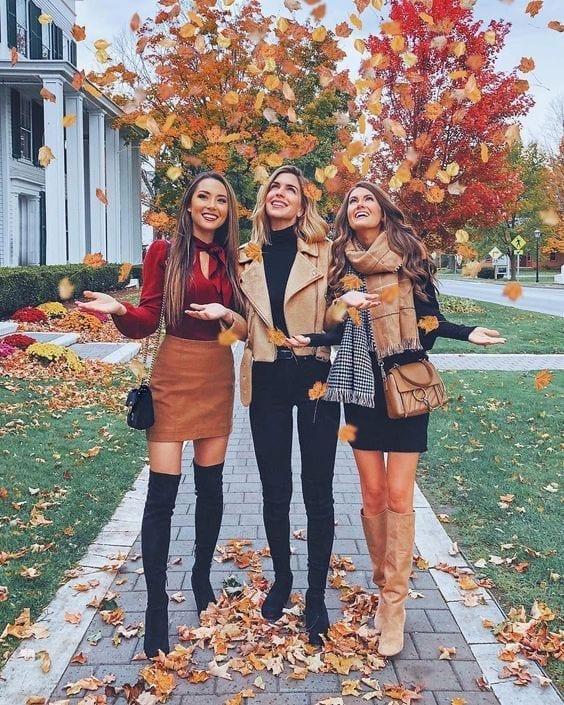 Outfits otoño - invierno para verte hermosa y elegante