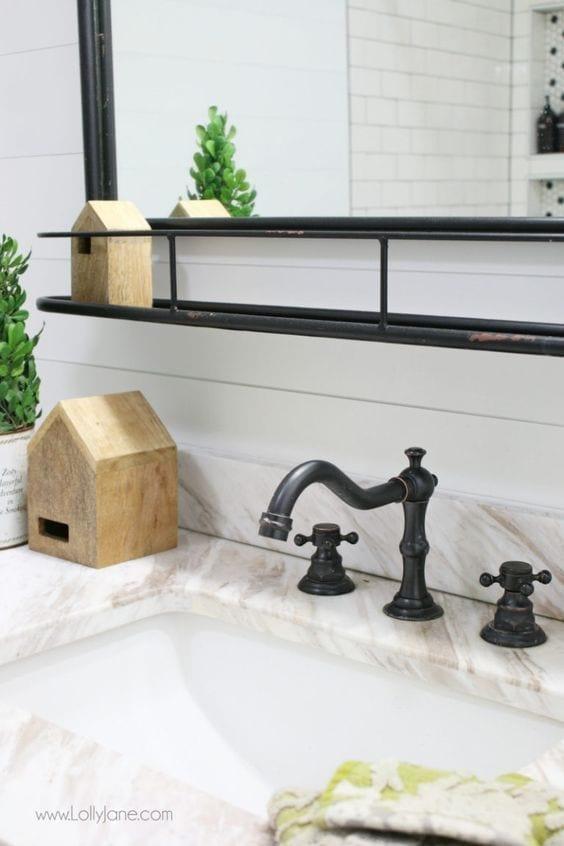 Cambia el diseño de los complementos de tu baño