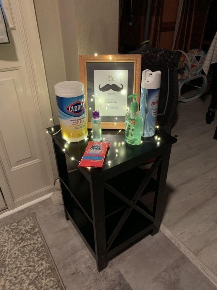 Como montar un espacio sanitizante en casa