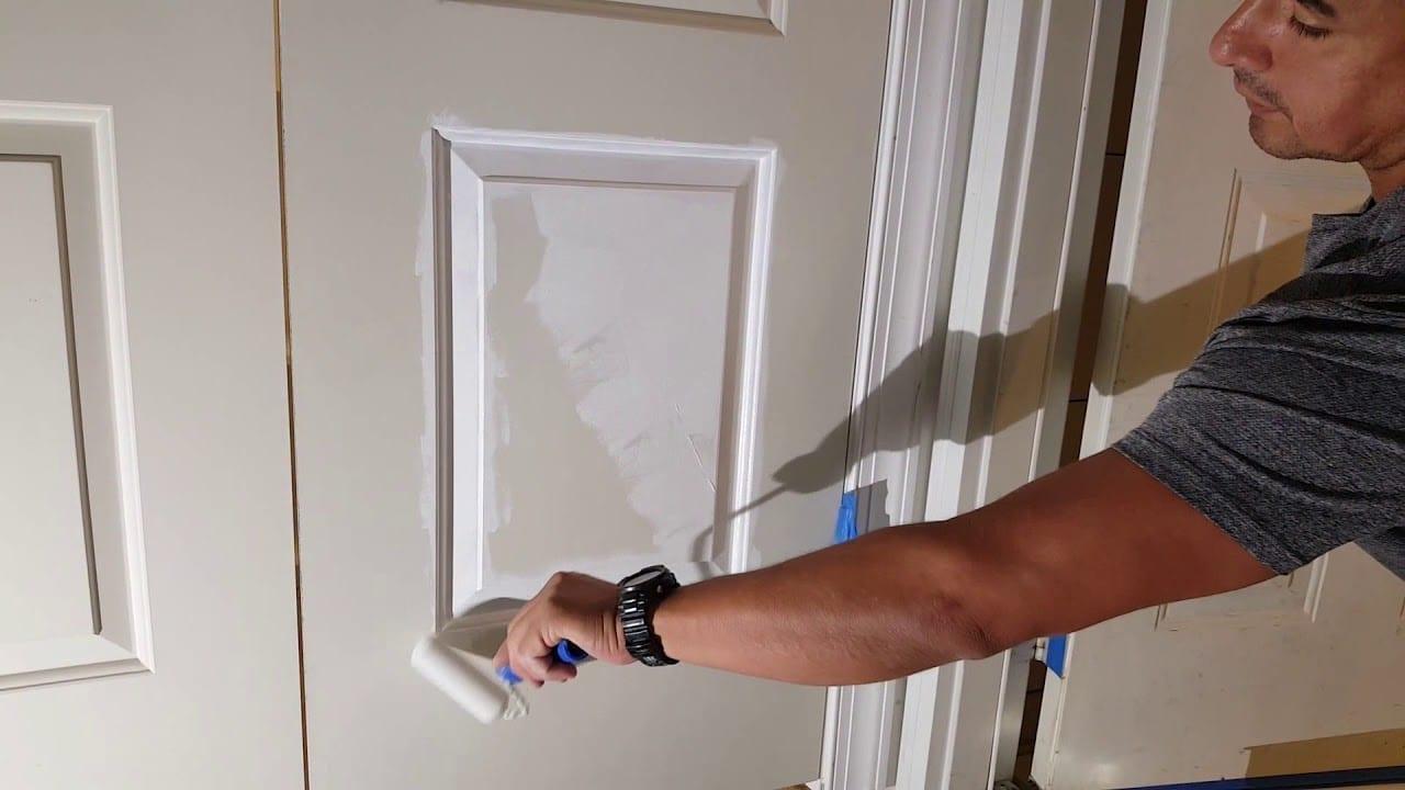 Como pintar las puertas