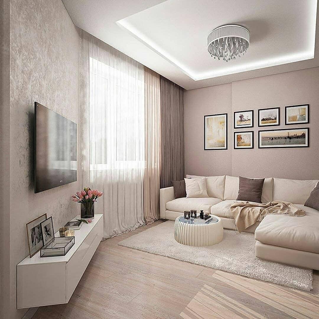 Decoración de salas pequeñas con cuadros