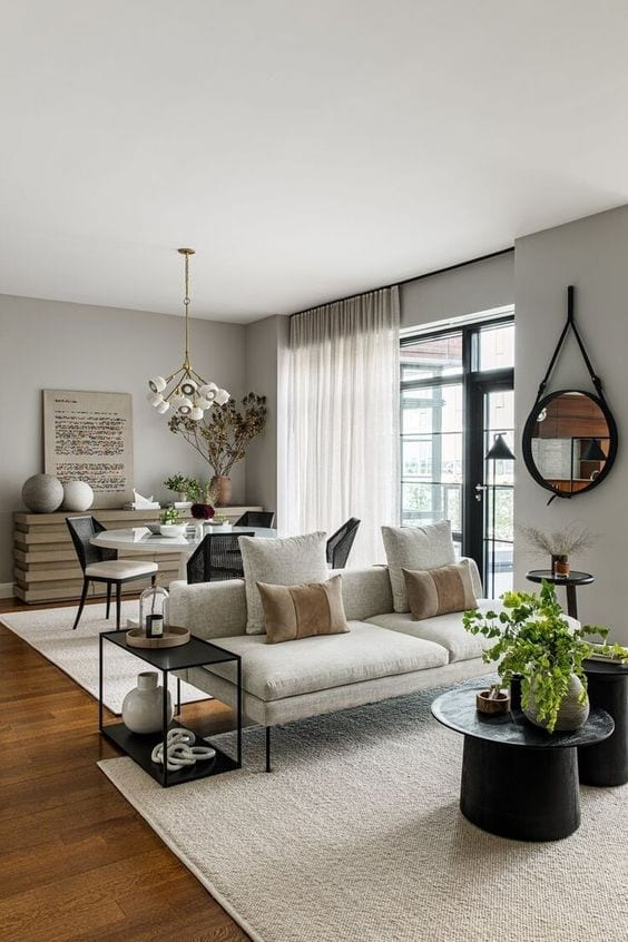 Decoración de salas pequeñas con plantas