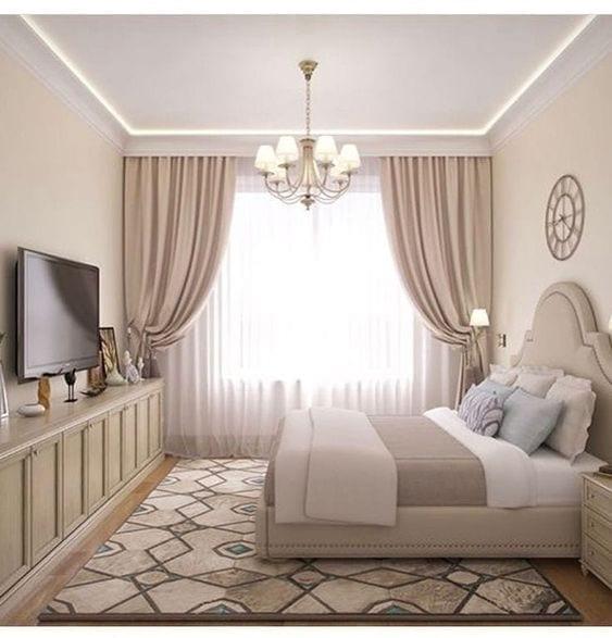 Diseño de cortinas para recamaras elegantes