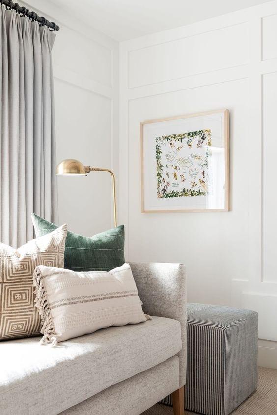 Evita la decoración de interiores monocolor